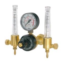 Riduttore Argon-Idrogeno, 30 Lpm, doppio flussometro