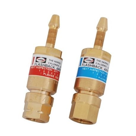 VALVOLA 188-1GL6 GAS COMBUSTIBILE (ROSSA) E 188-1GL6 OSSIGENO (BLU)