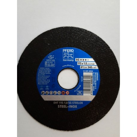 Disco da taglio SG A60 115x1